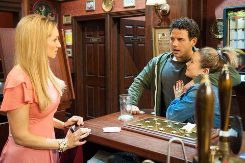 When Eva turns him down, Jason focuses his attention on Gemm