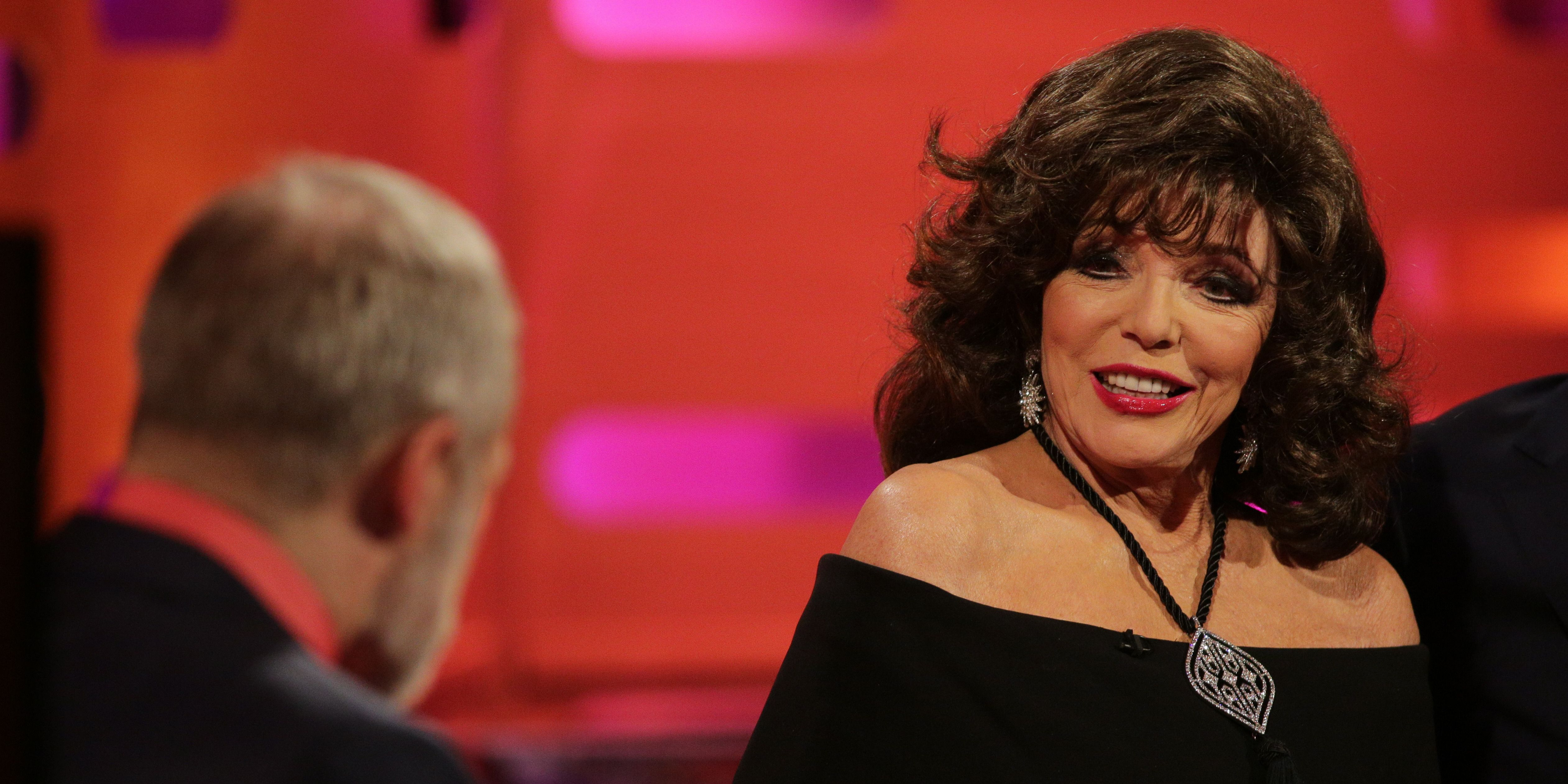 Joan Collins on the Graham Norton Show