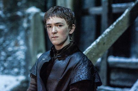 Brenock O'Connor as Olly in Game of Thrones season 6, episode 2