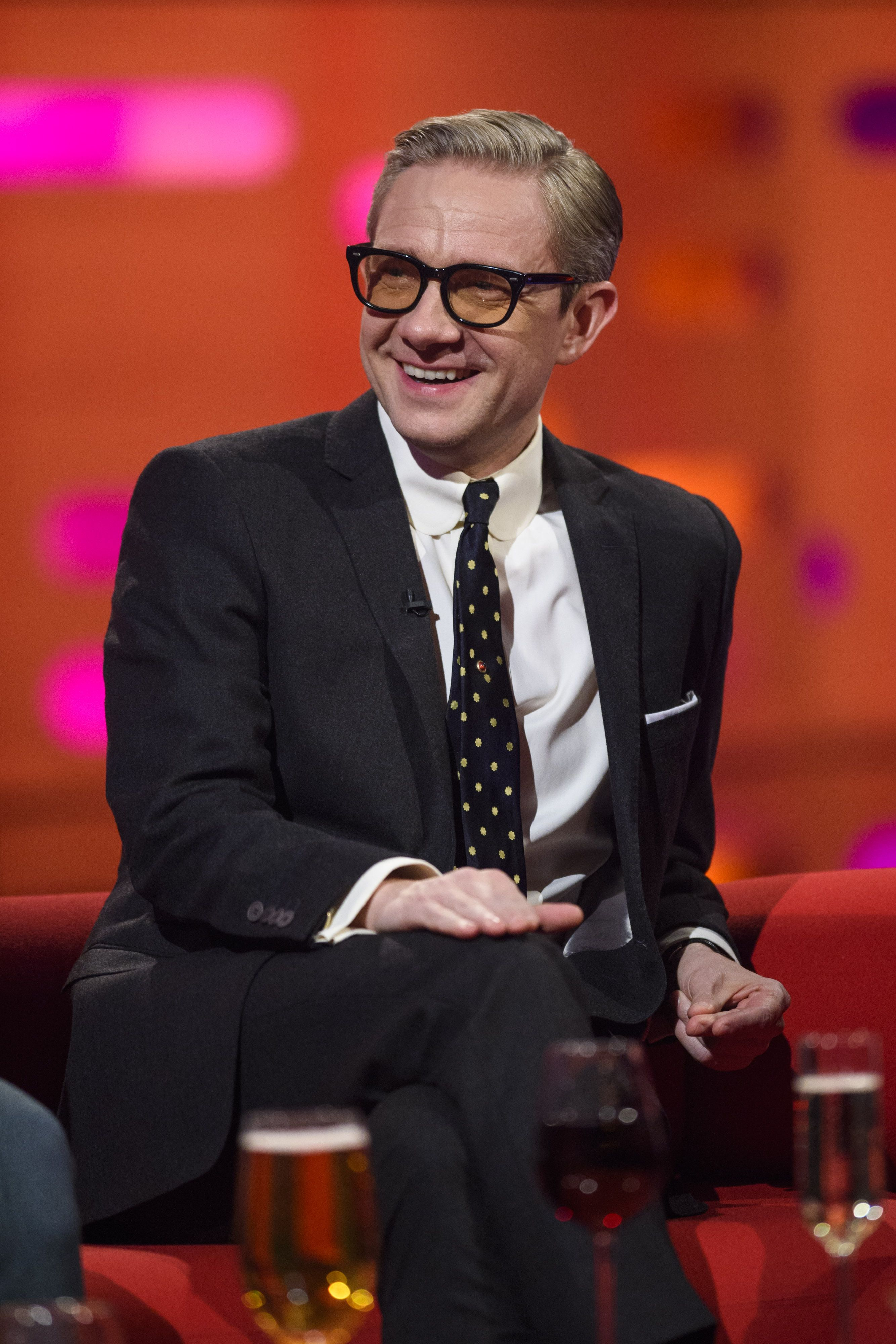 """Martin Freeman admits he could """"very nearly"""" have not been in The Office"""
