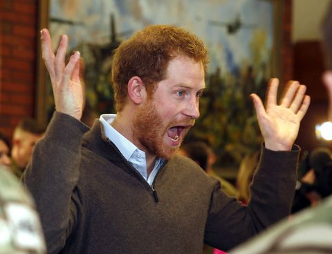 Prince Harry has just said