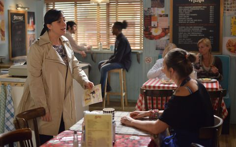 Sonia is irritated when Tina suggests she still visit the doctor