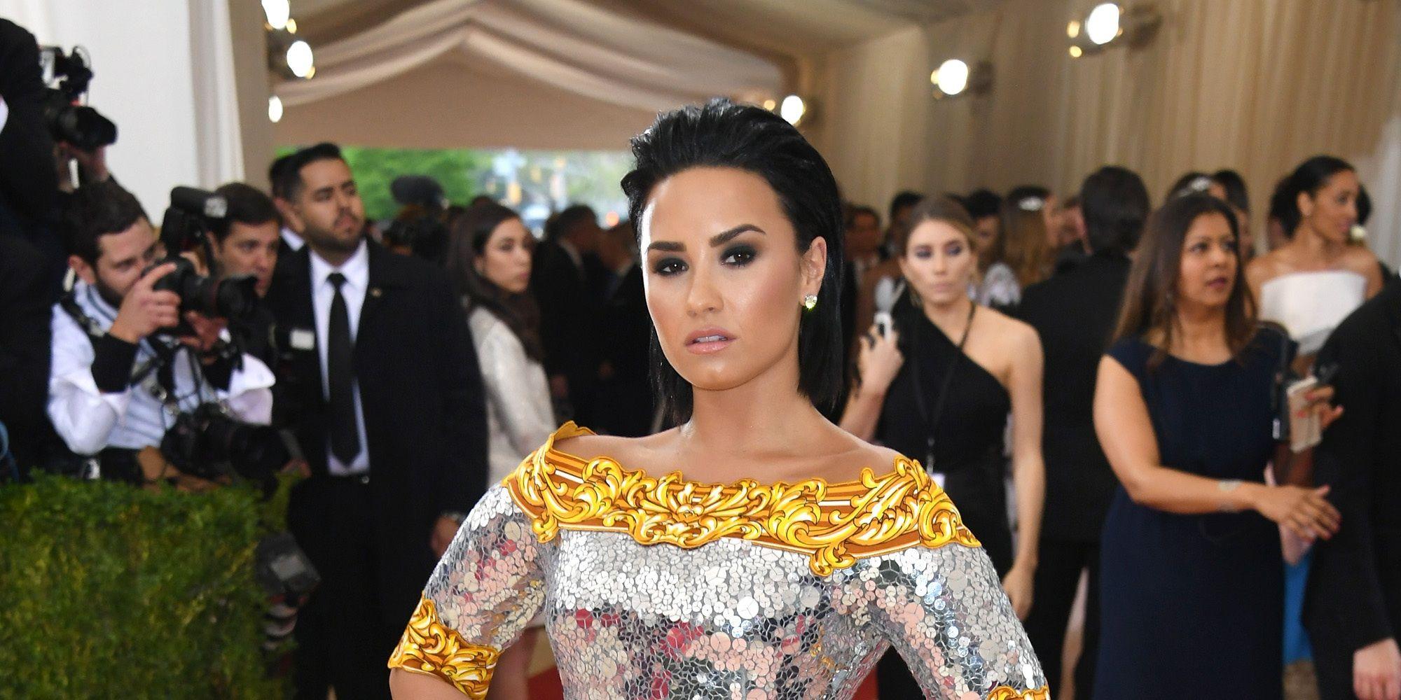 Demi Lovato at Met Gala