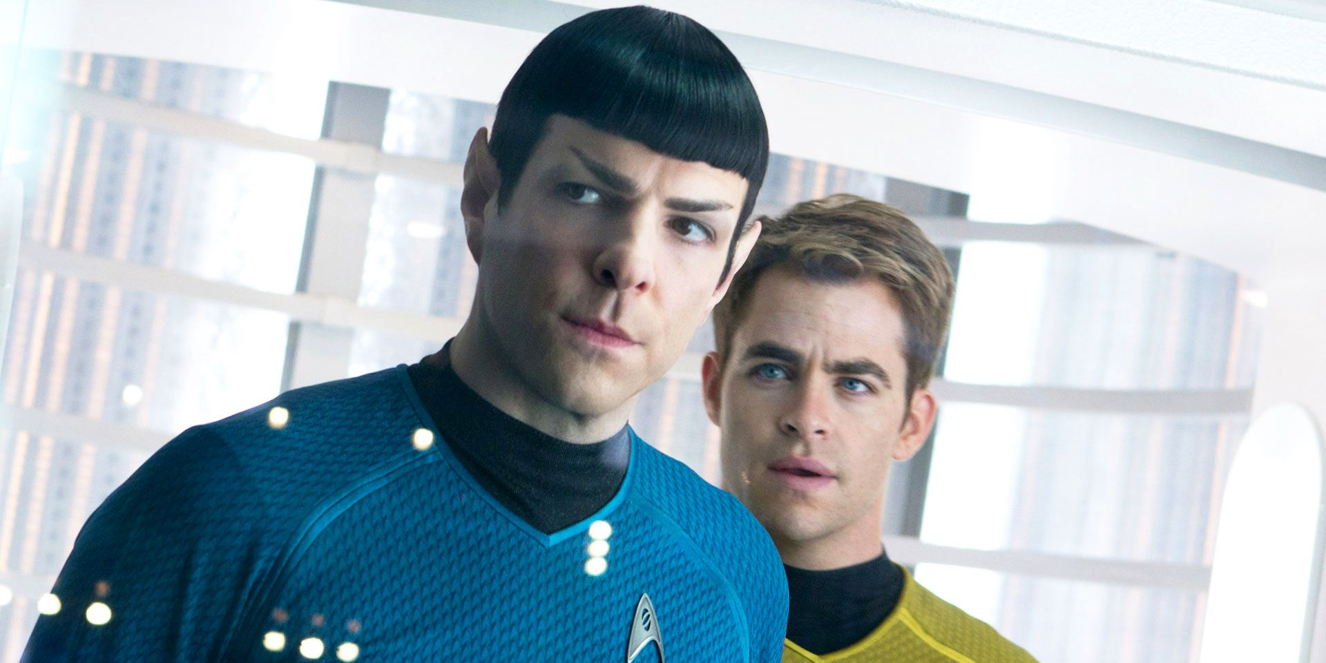 Star Trek into Darkness Spock and Kirk