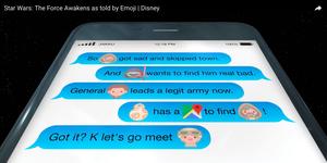 Disney Star Wars Emoji