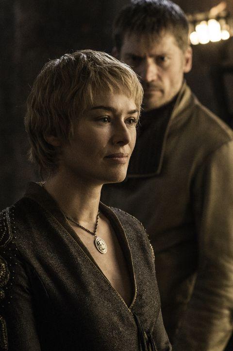 Game of Thrones s6e3:  Cersei Lannister (Lena Headey) and  Jaime Lannister (Nikolaj Coster-Waldau)