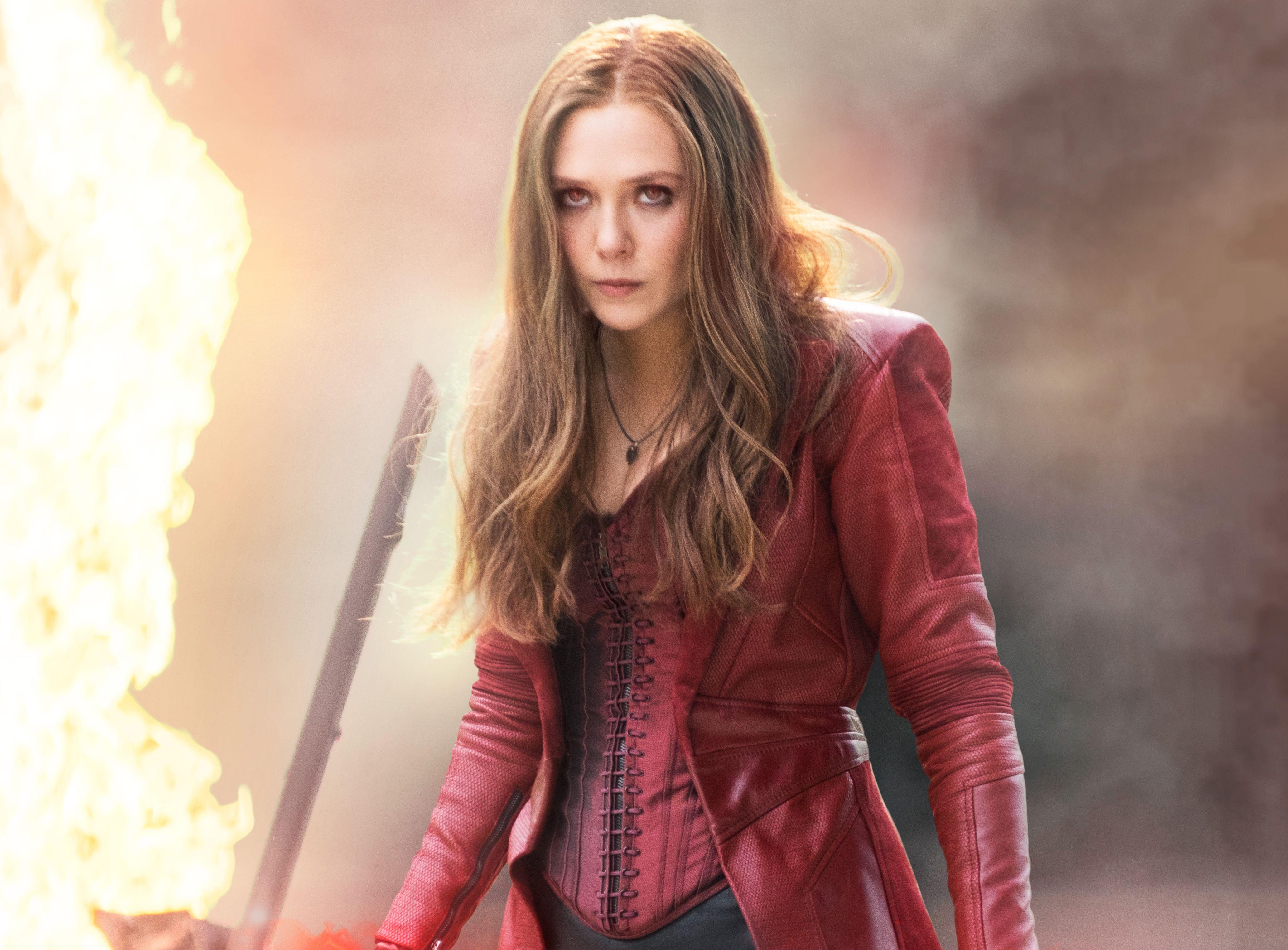 "Marvel star Elizabeth Olsen says WandaVision will get comic fans ""so excited"""