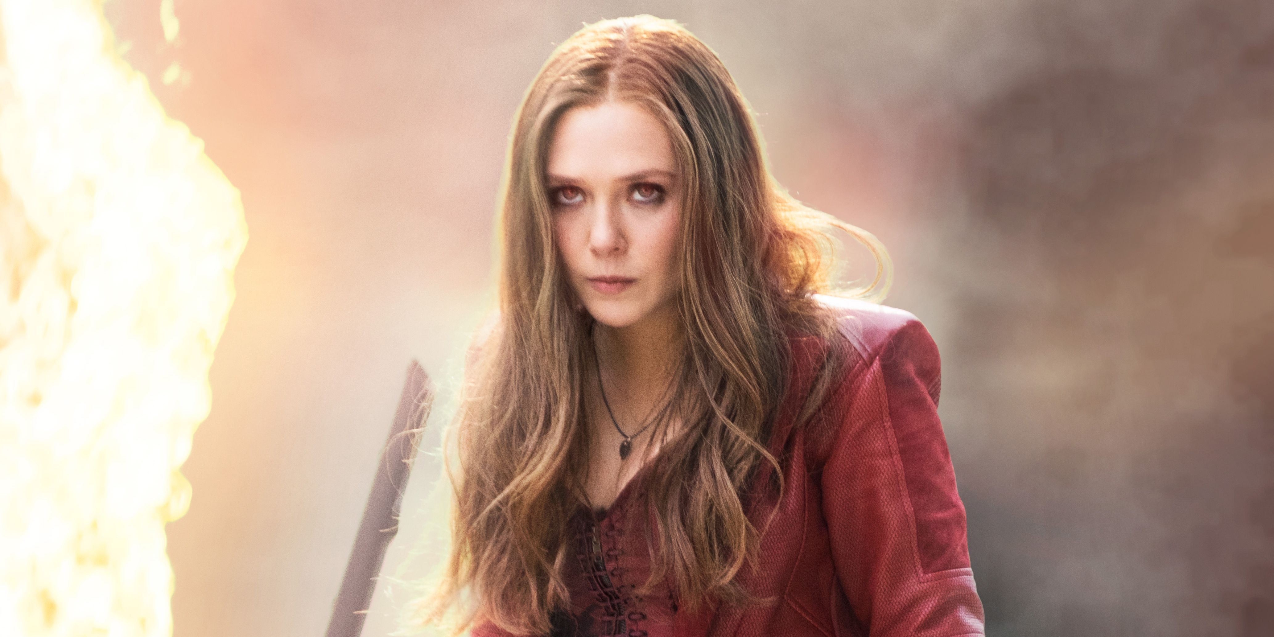 Elizabeth Olsen in Captain America: Civil War Scarlet Witch Wanda
