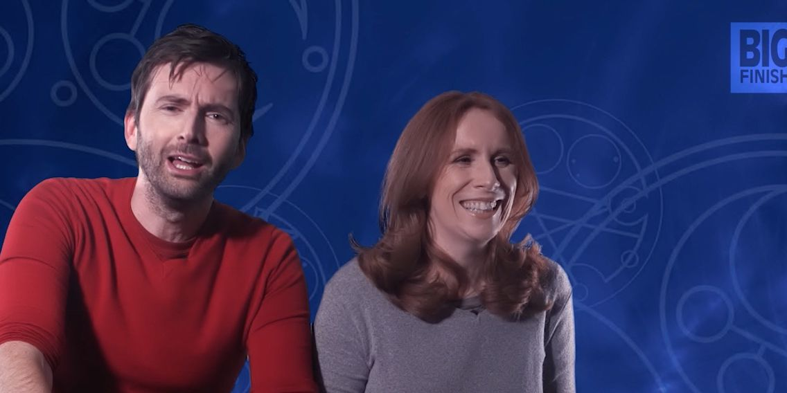 David Tennant and Catherine Tate talking returning to Doctor Who for Big Finish