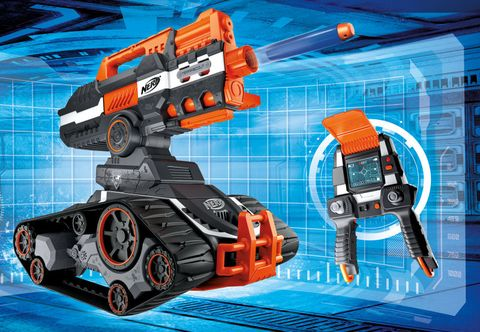 Is this driveable Nerf gun robot the coolest toy EVER?