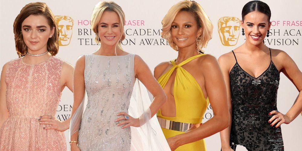 BAFTAS, red carpet dresses