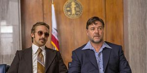 Ryan Gosling and Russell Crowe, The Nice Guys 2016, film still