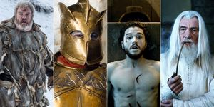 Hodor, The Zombie Mountain, Jon Snow - Game Of Thrones, Gandalf - Lord Of The Rings