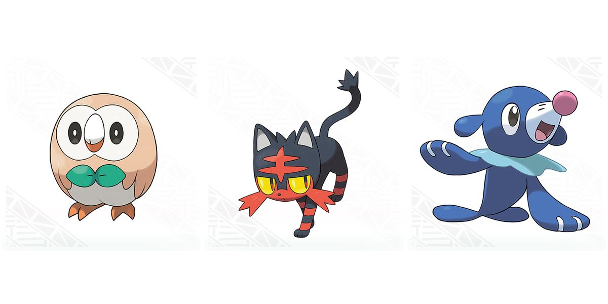 We FINALLY know what the Pokémon Sun/Moon starters' final ...