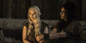 Game of Thrones s6e4: Daenerys Targaryen stews with a Dosh Khaleen Priestess