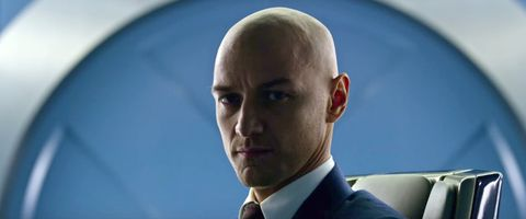 X-Men's James McAvoy reveals he hates shaving his hair off