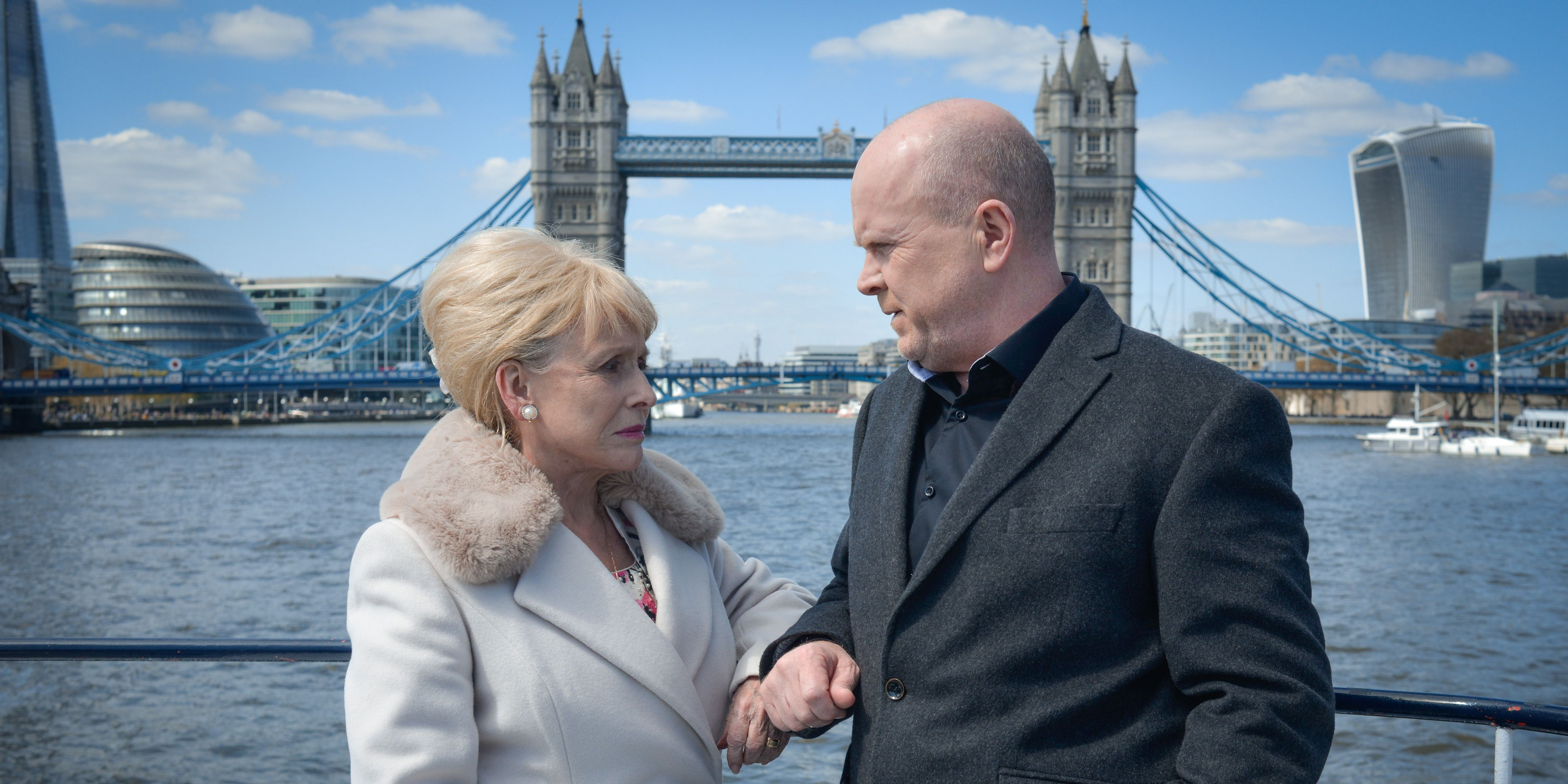 Peggy and Phil take a boat trip down the Thames