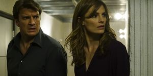 Castle's Nathan Fillion, Stana Katic