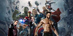 X-Men and Avengers mashup