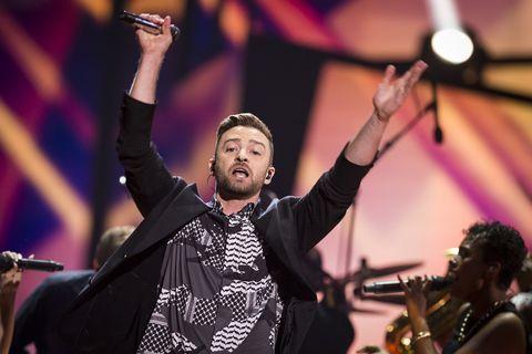 Justin Timberlake at Eurovision