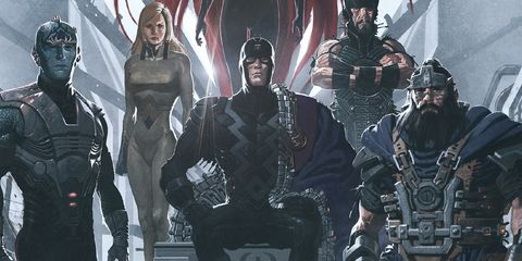 Marvel reveals the full cast for its Inhumans TV series