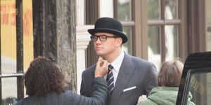 Channing Tatum filming The Kingsman, London
