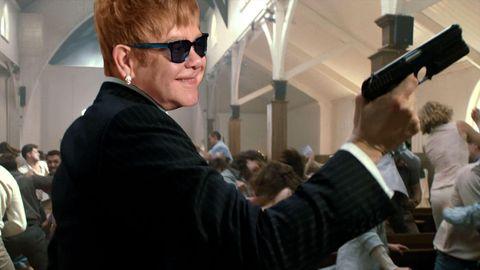 PHOTOSHOP Elton John in Kingsman