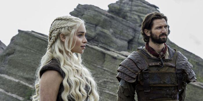 Game of Thrones s6e5: Daenerys Targaryen and Daario Naharis are reunited