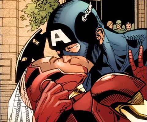 Forget Bucky, we should all be shipping Captain America and Iron Man