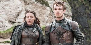 Yara and Theon in Game of Thrones s06e05, 'The Door'