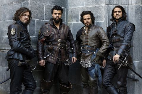 The Musketeers series 3 cast shot