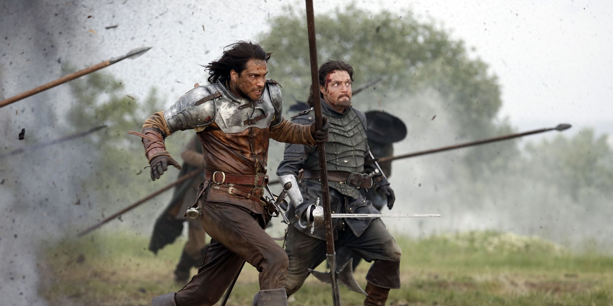 The Musketeers s03e01