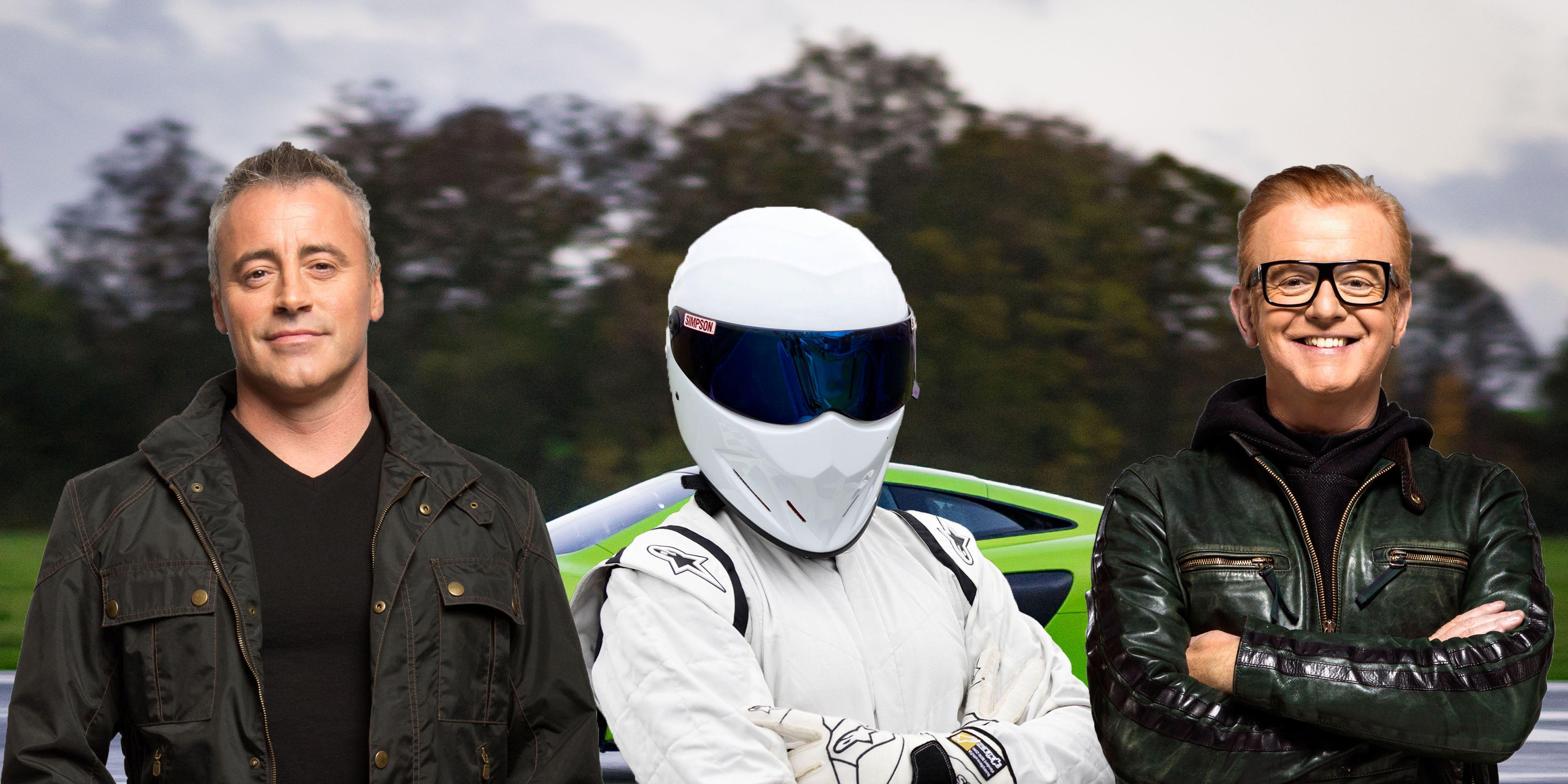 PHOTOSHOP Top Gear presenters, Matt LeBlanc, The Stig, Chris Evans