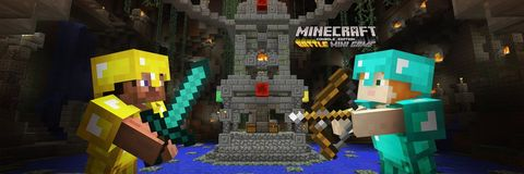 Minecraft is getting downloadable mini-games from June