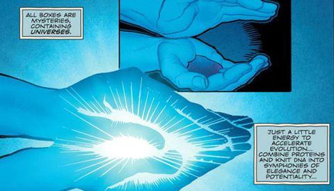 Doctor Manhattan in DC Universe: Rebirth #1
