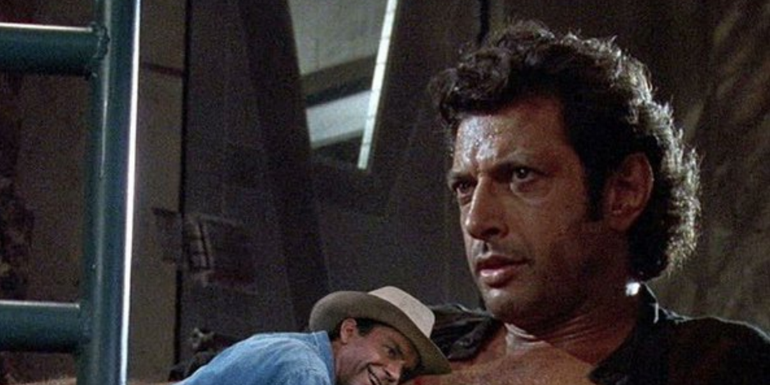 Sam Neill responds to THAT Jeff Goldblum Jurassic Park photoshop