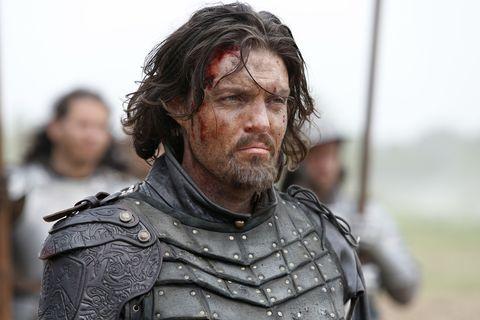 Tom Burke in The Musketeers series 3