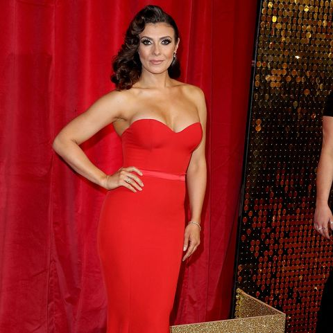 kym marsh attends the british soap awards 2016