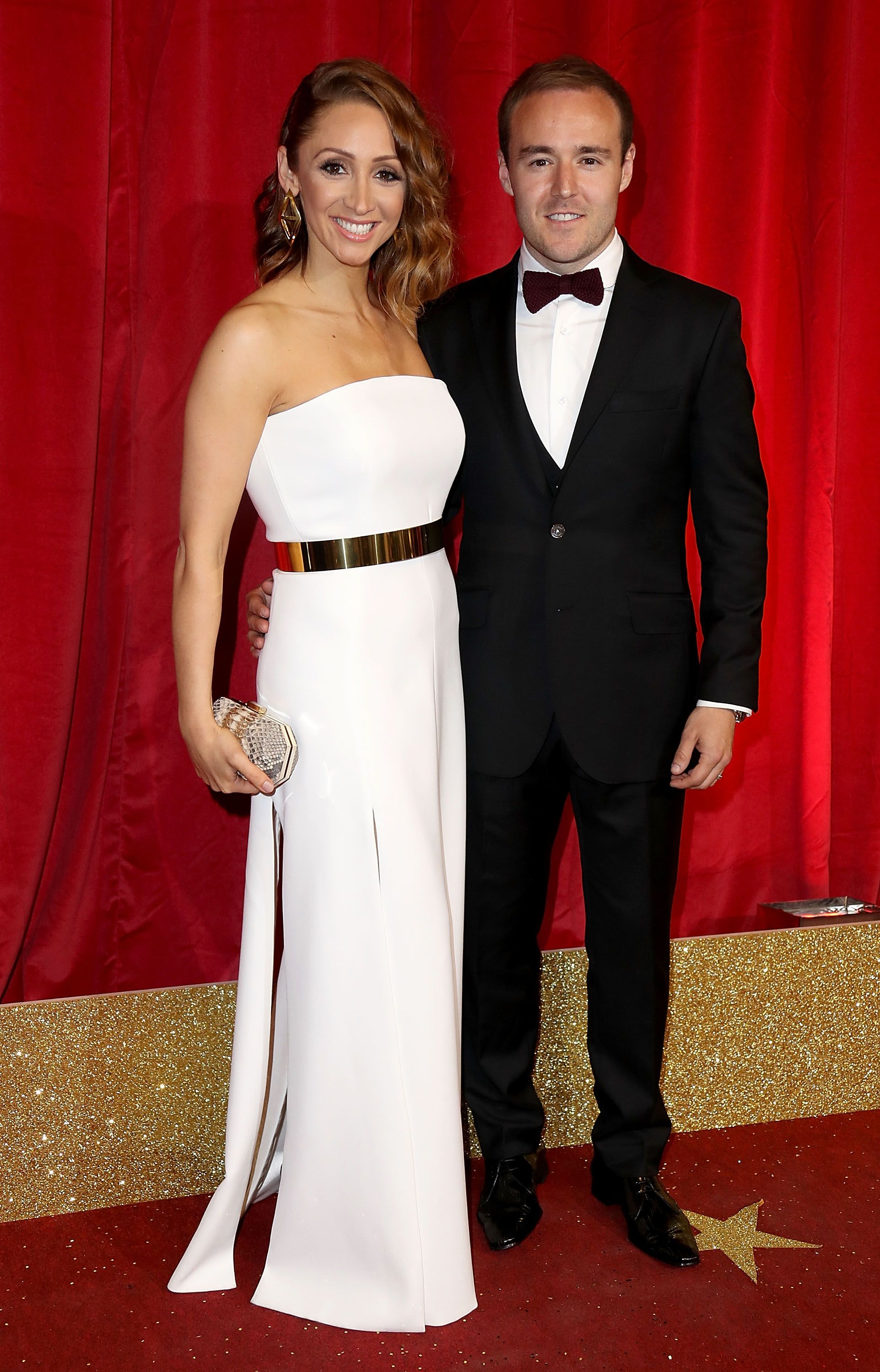 """Former Coronation Street star Lucy-Jo Hudson says co-parenting with ex Alan Halsall can be """"difficult"""""""