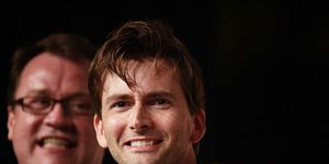 David Tennant and Russell T Davies