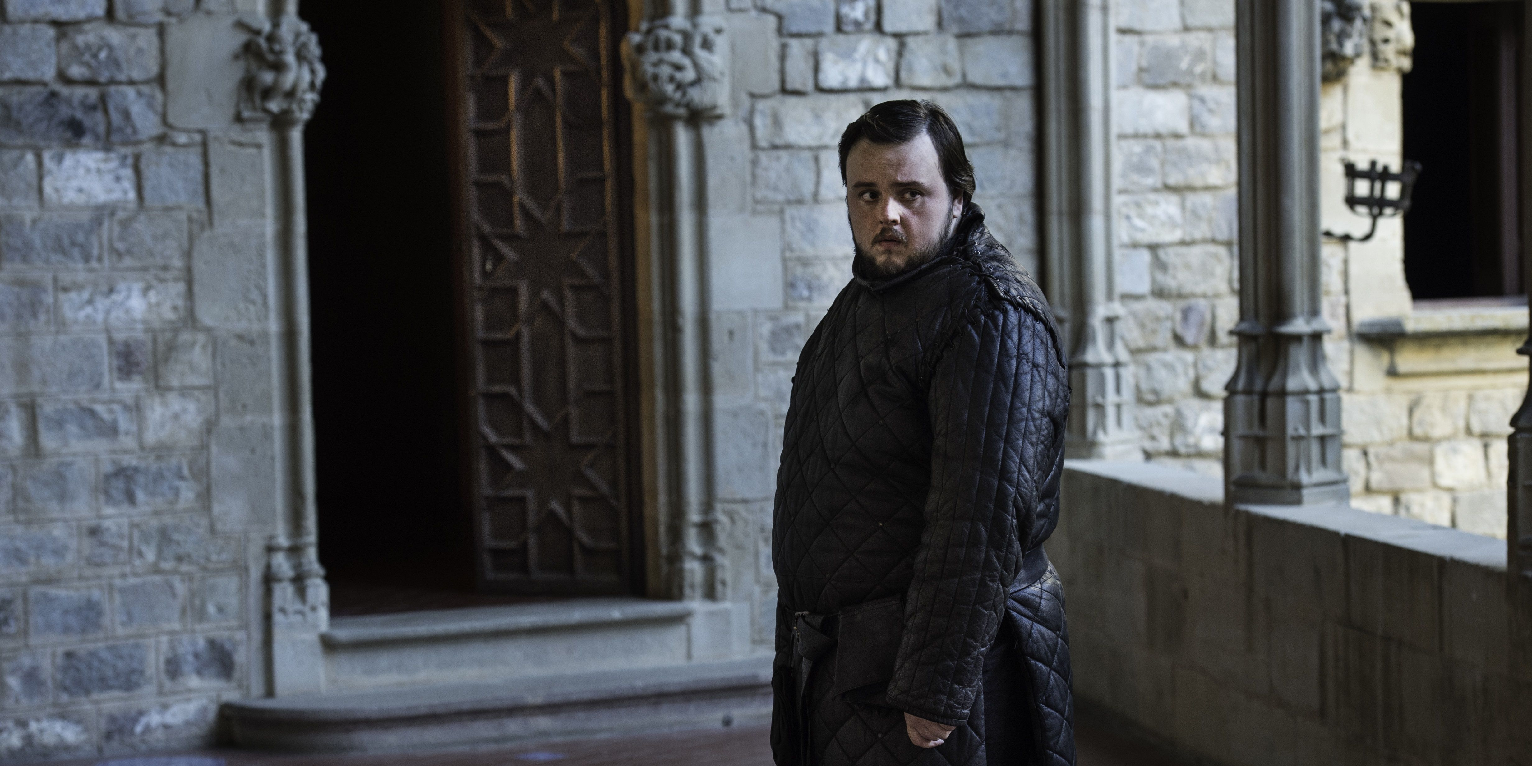 Samwell Tarly in Game of Thrones s06e06