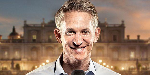 Gary Lineker for the BBC