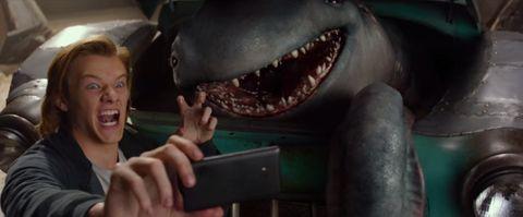 Monster Trucks trailer grab