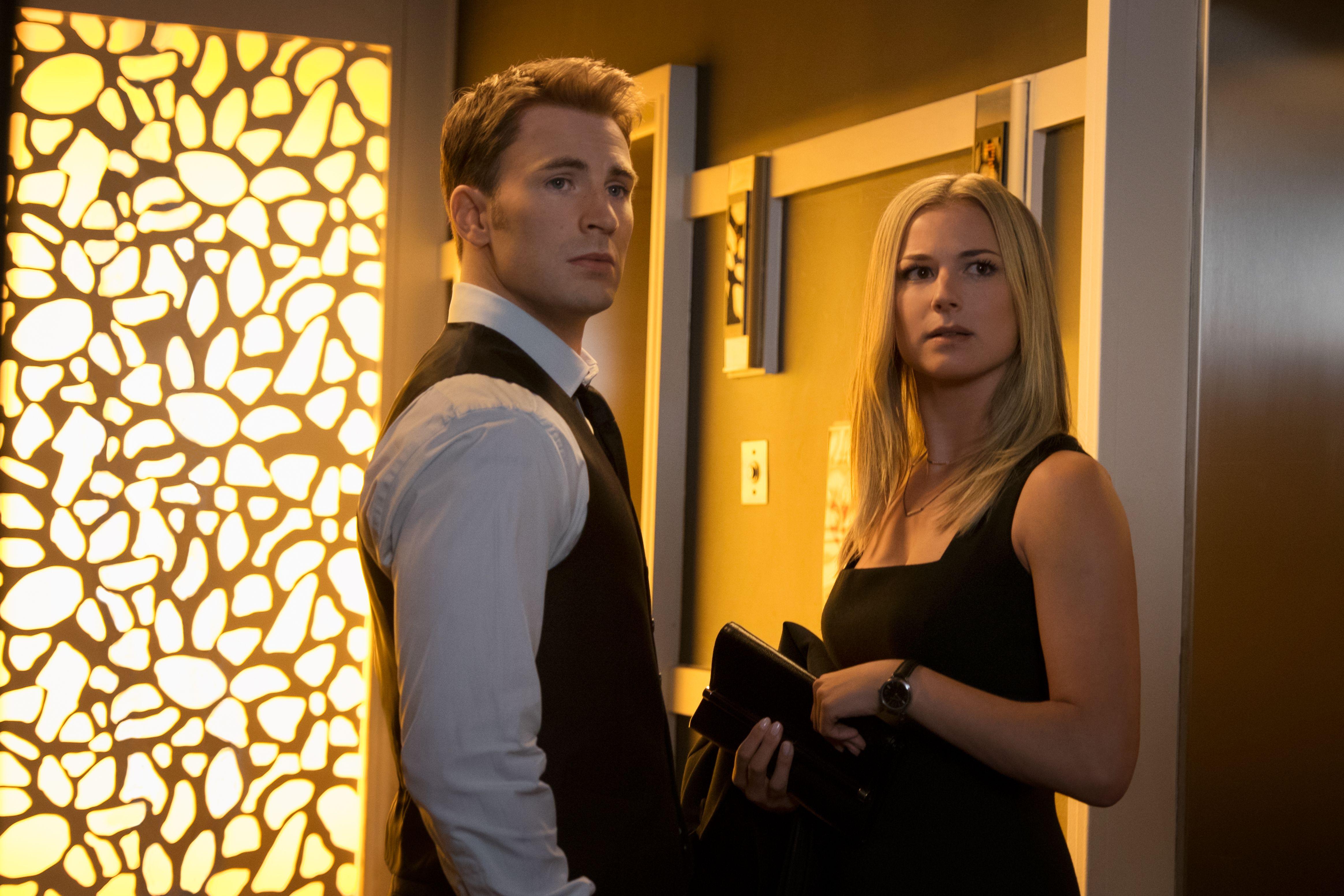 Emily VanCamp Admits Her 'Captain America' Kiss Scene Might've Gone Too Far