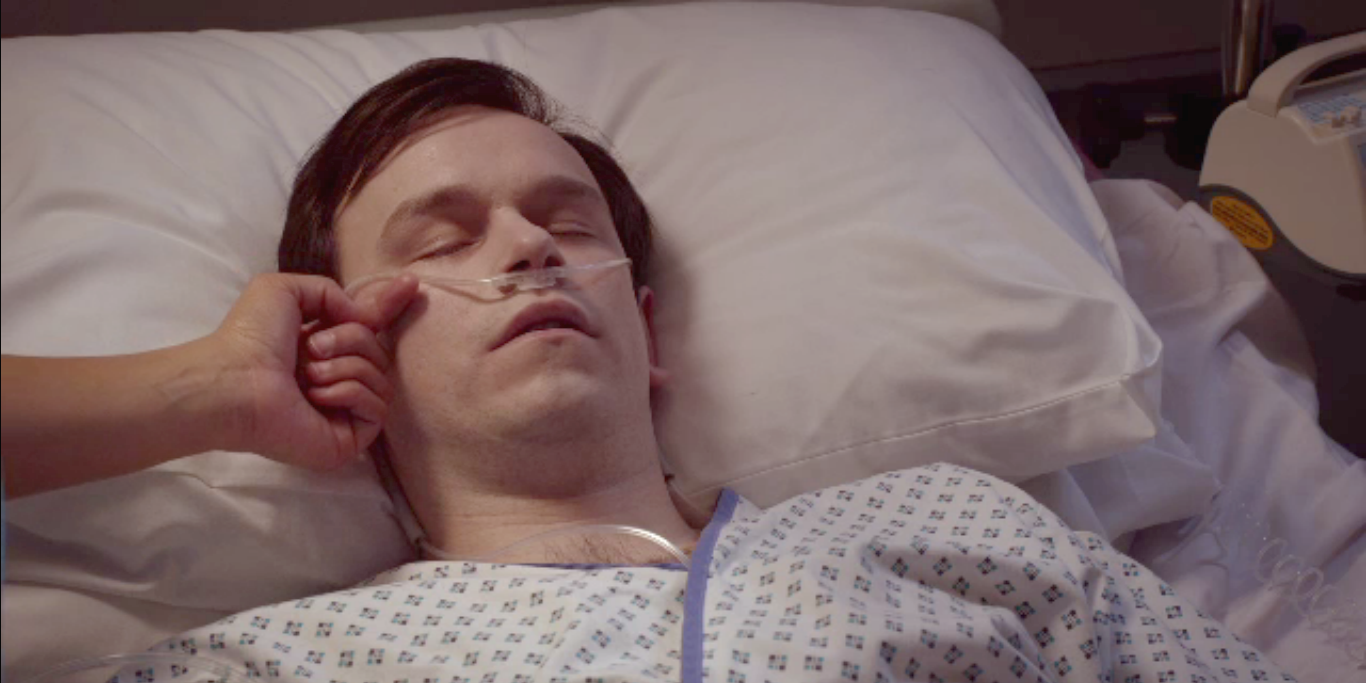Arthur Digby's exit in Holby City