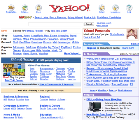 11 forgotten websites that used to rule the internet, from