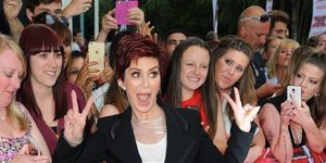 LEICESTER, ENGLAND - JUNE 10: Sharon Osbourne arrives for the first X Factor auditions of 2016 on June 10, 2016 in Leicester, United Kingdom. (Photo by Eamonn M. McCormack/Getty Images)