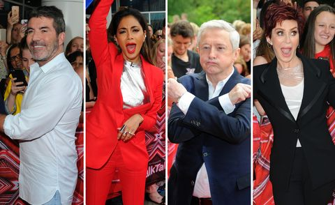 all x factor judges
