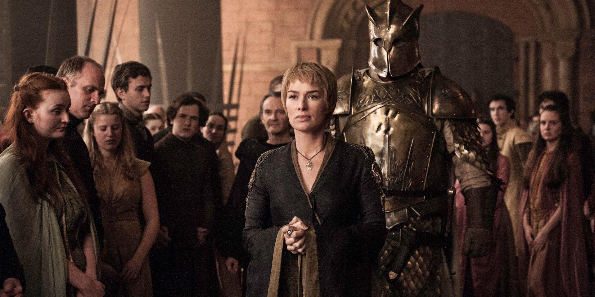 Cersei in Game of Thrones s06e08