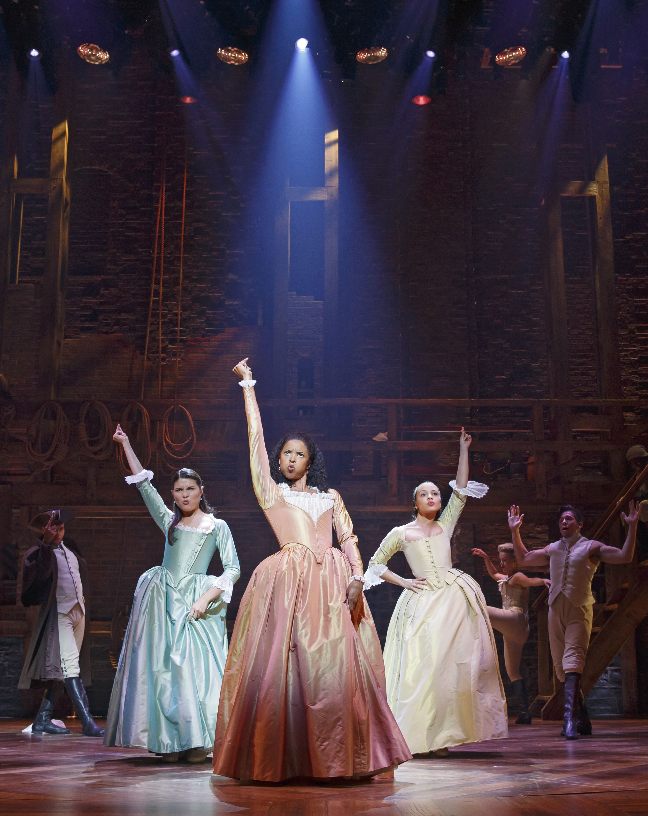 A recorded version of Hamilton is coming to TV screens this autumn